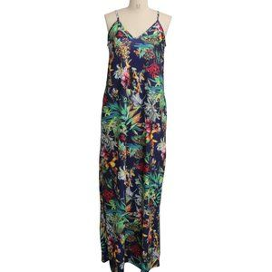new Floral Maxi Summer Dress L